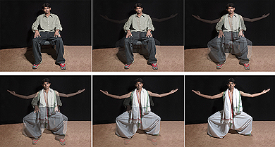 Annu Palakunnathu Matthew, Anirudh , from  The Virtual Immigrant series, 2006