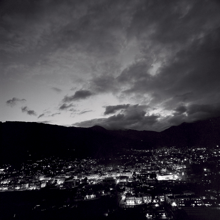Thimpu at night, Bhutan.jpg