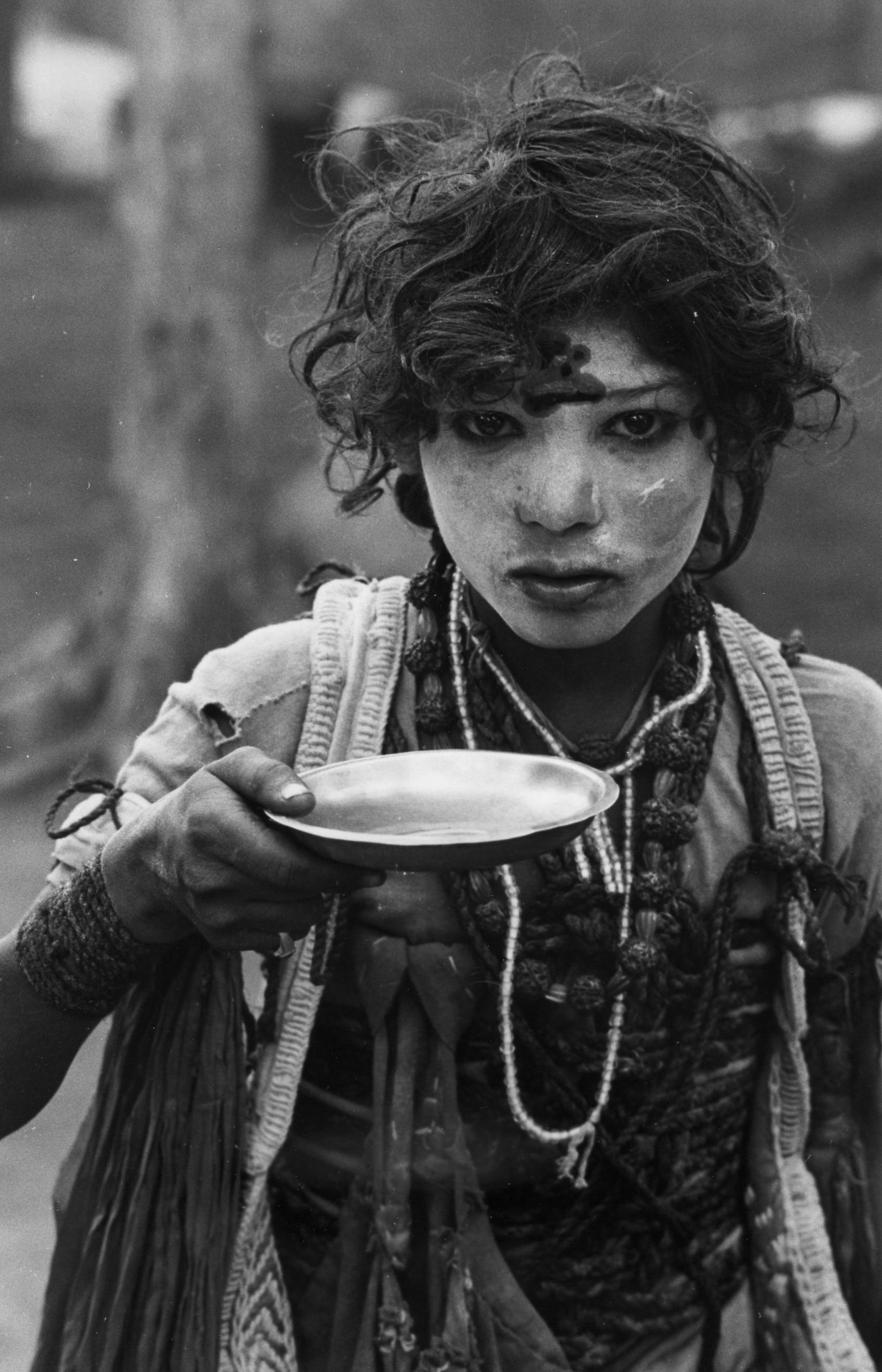 Sadhu Beggar Boy, Jana Gadh , February 1968