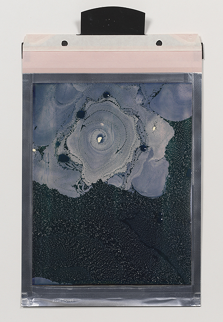 Beatrice Pediconi,  Gaea #2 , 2018. Polaroid, Unique, 8 x 10 in.