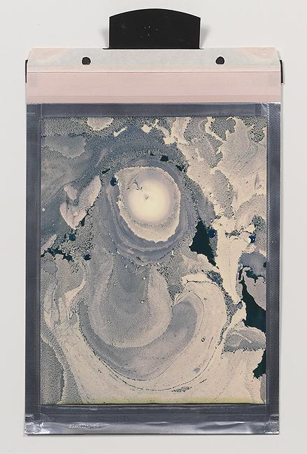 Beatrice Pediconi,  Gaea #3 , 2018. Polaroid, Unique, 8 x 10 in.