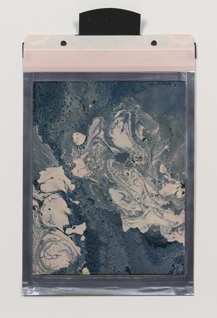 Beatrice Pediconi,  Gaea #9 , 2018. Polaroid, Unique, 8 x 10 in.