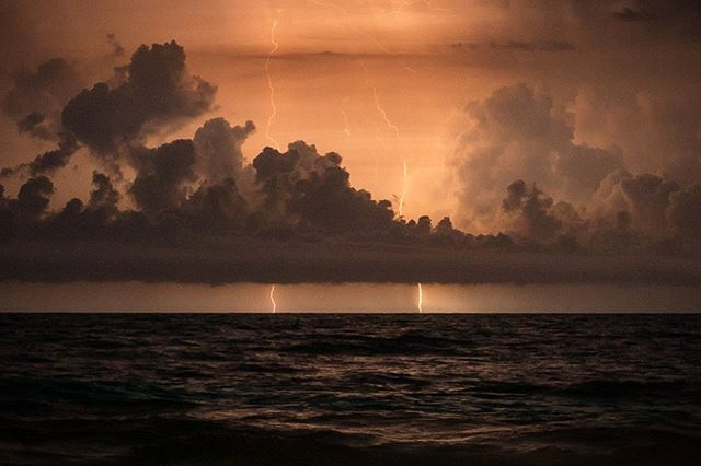 Lightning strikes twice | Emerald Isle, NC