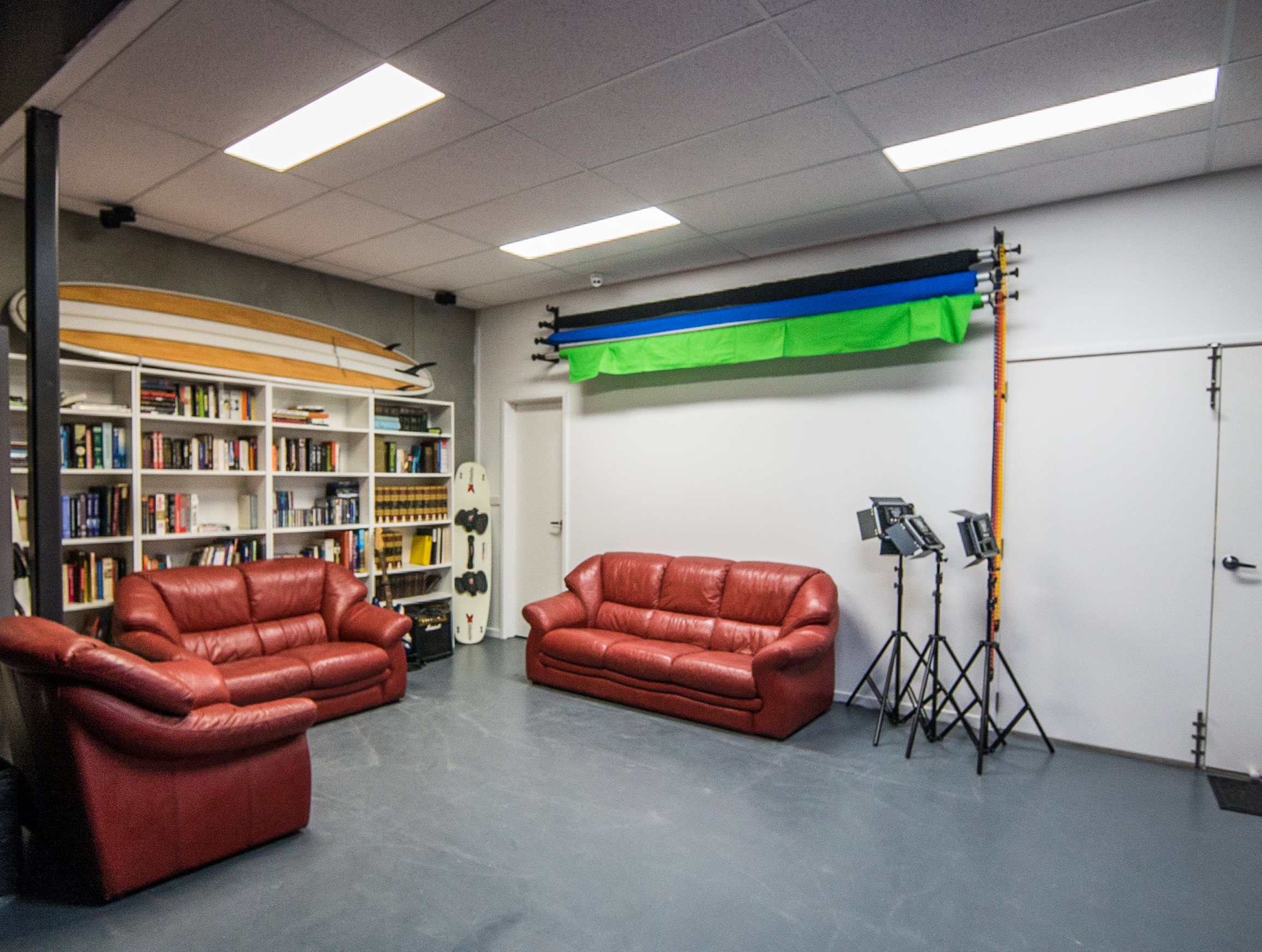 Studio - Available for $140 (excl. GST) an hour (minimum 2 hours). Discounted rates for members.