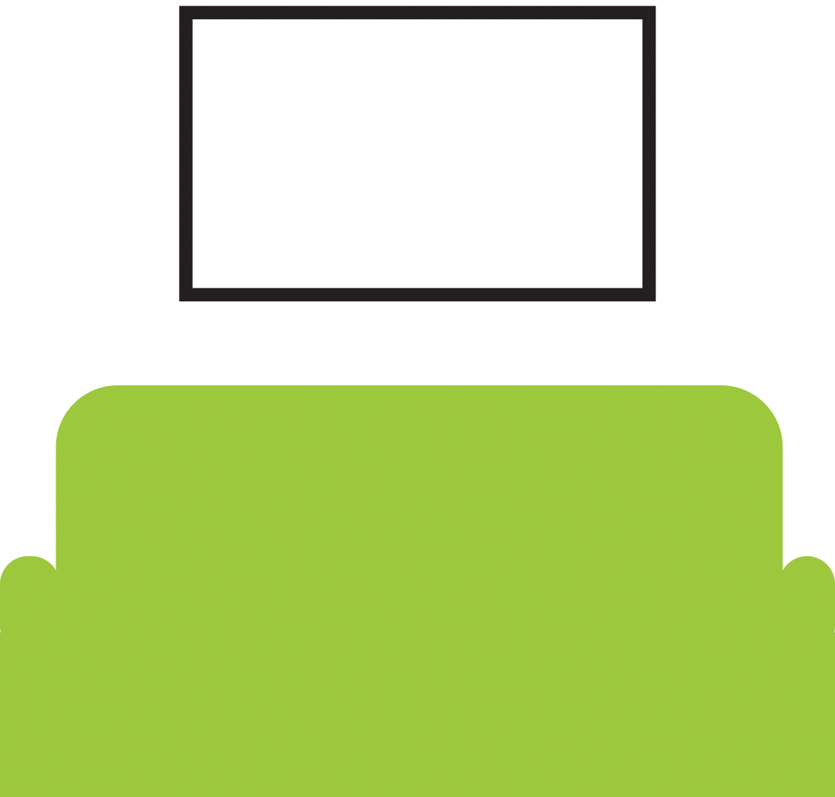 "Chill Area (4k TV, 65"")"