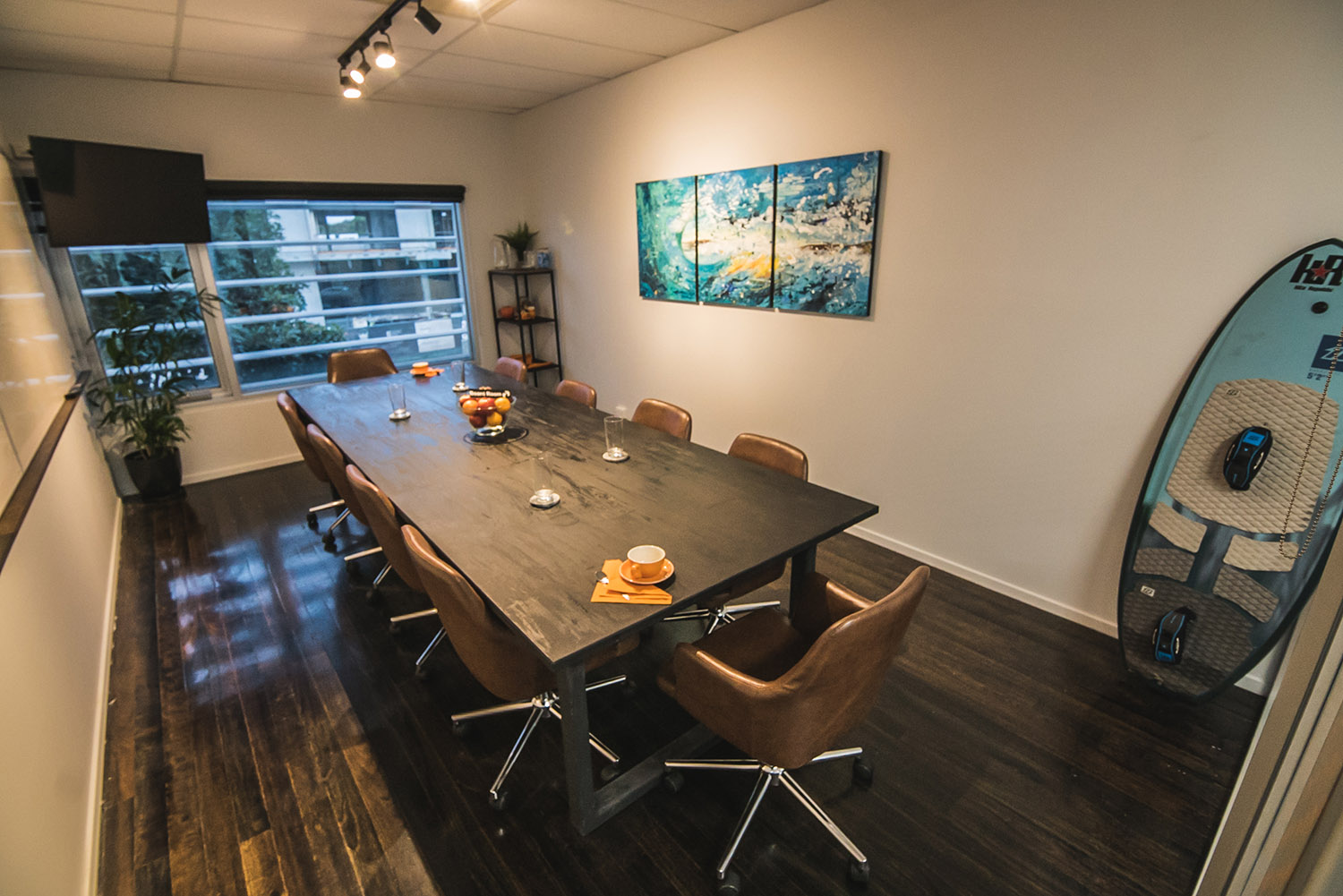 Boardroom - Available for external hire at $100 (excl. GST) per hour, or $600 for the day (8 hours). Discounted rates for members.
