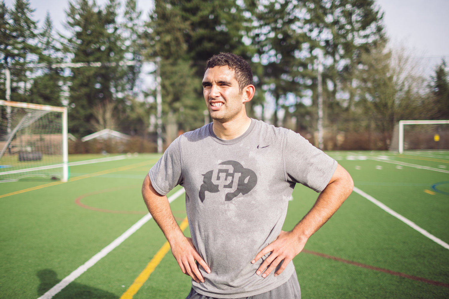 """SEFO LIUFAU     Former Quarterback - University of Colorado    """"In my opinion, everyone cares so much about appearance and what """"looks cool"""" but if you want results that help you for the next level this is the place for you."""""""
