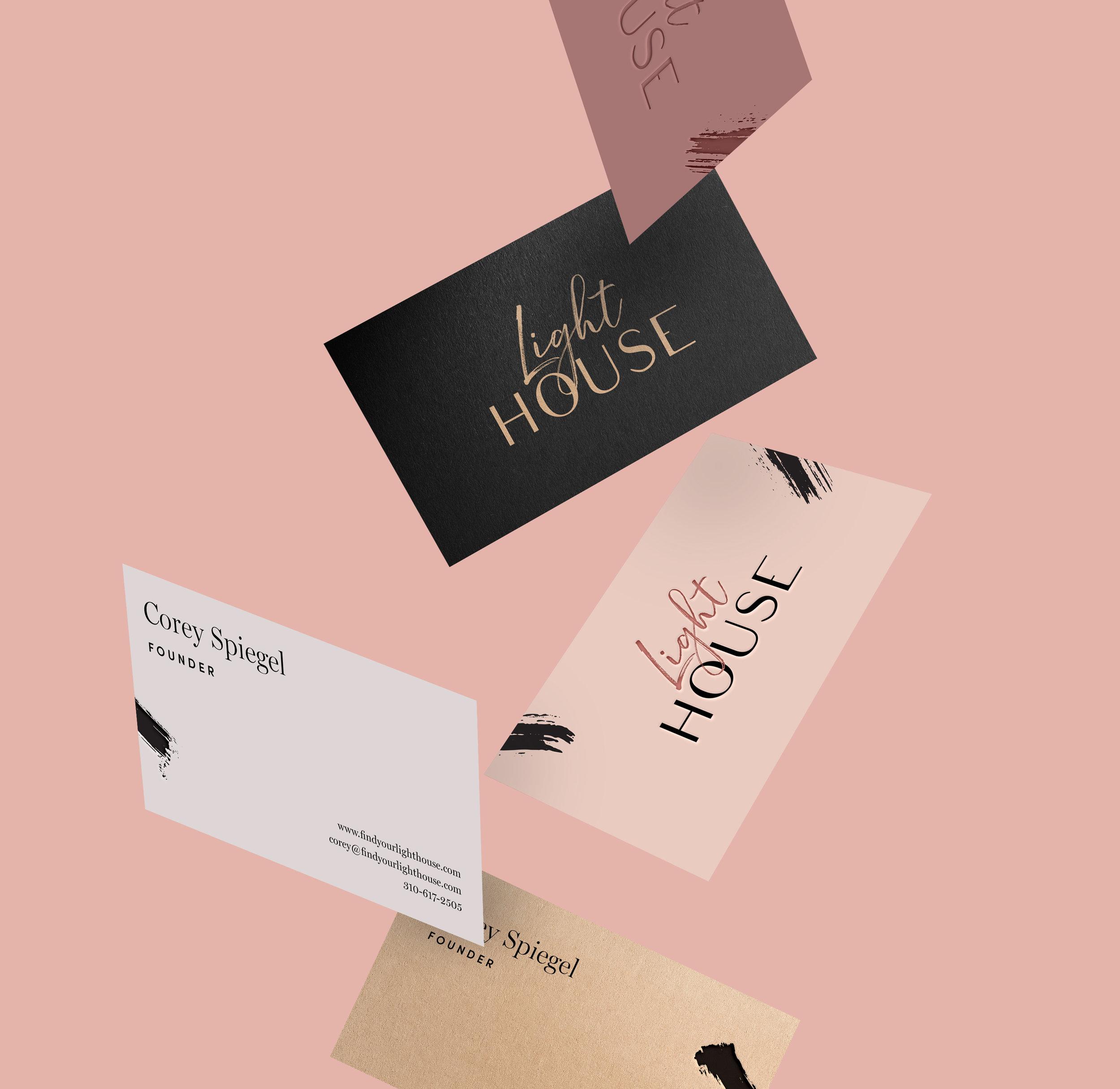 Light House - Branding, Web Design, Print Design