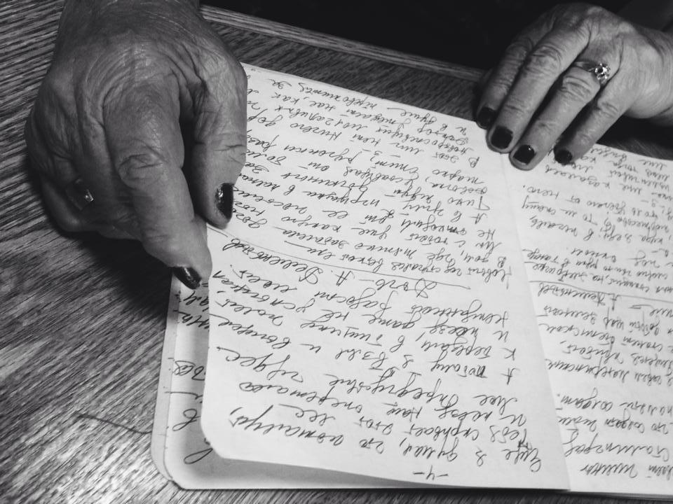 grandma luba's hands, 2016