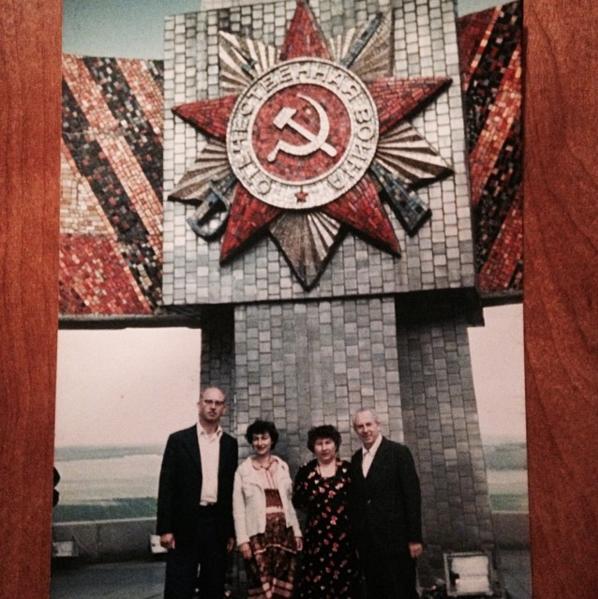 dedushka mitya, mama, babushka luba & dedushka venya, minsk 1984