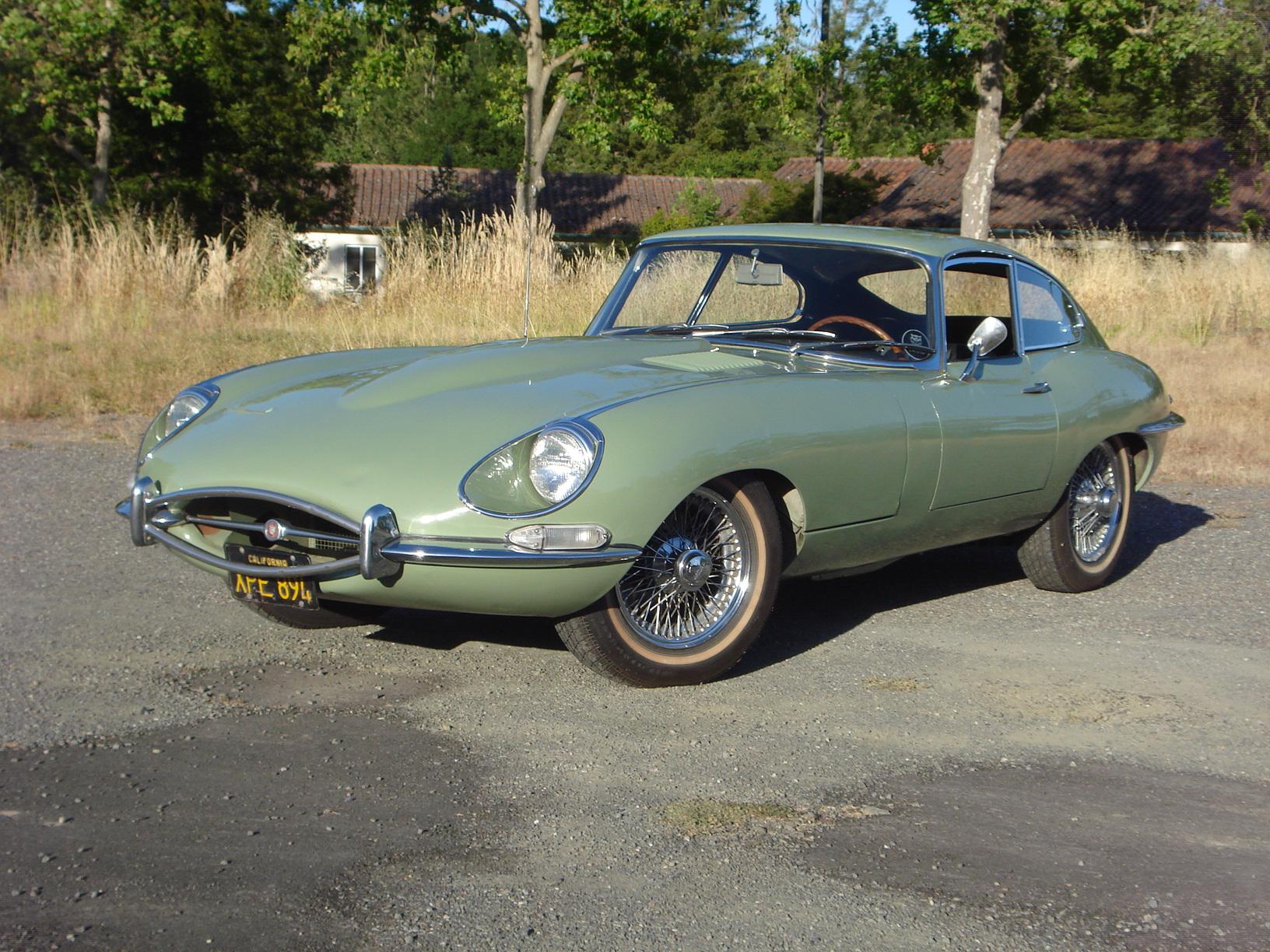 1968 Jaguar XKE Coupe -