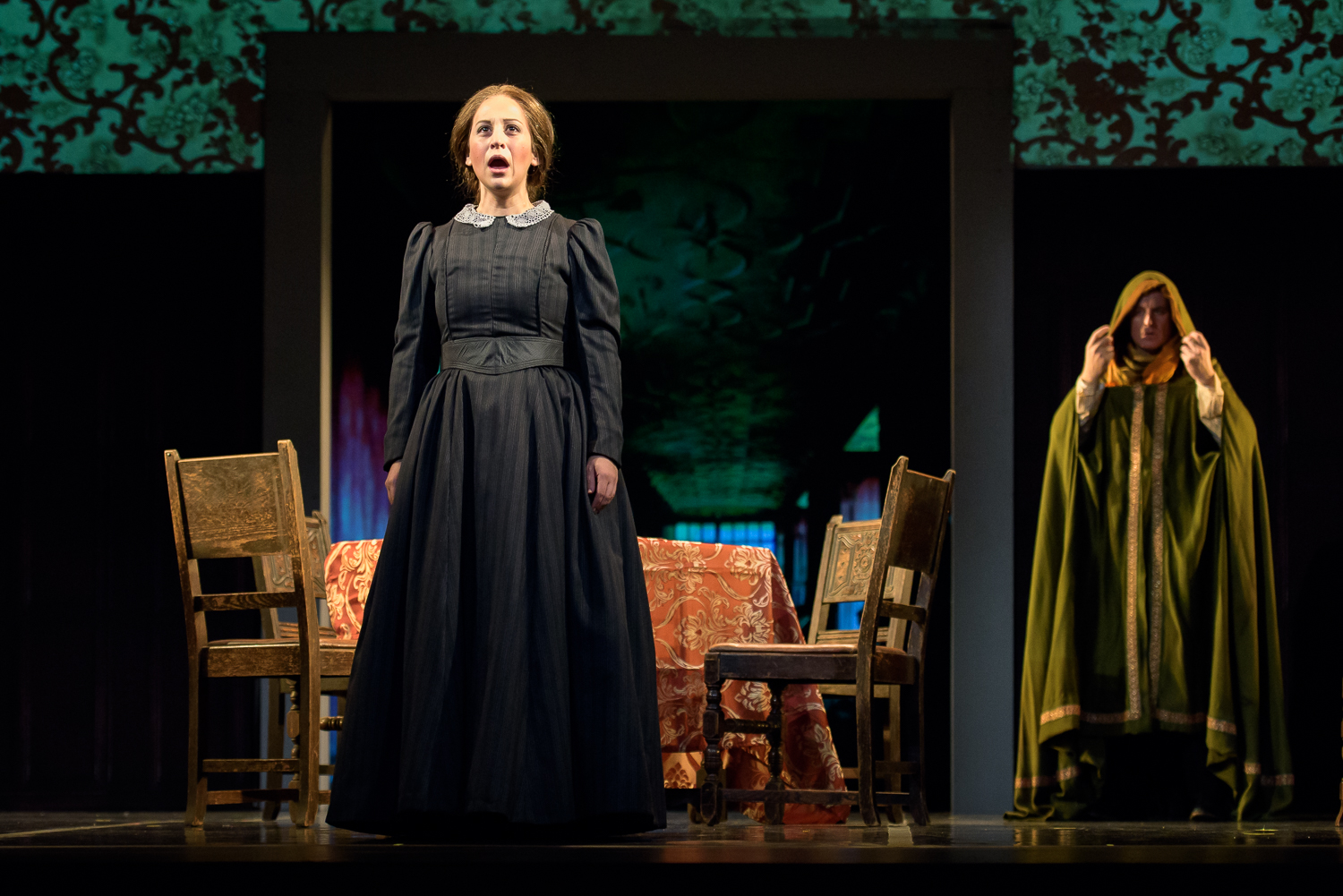 Jane in  Jane Eyre  with Center for Contemporary Opera, pictured with Ryan MacPherson