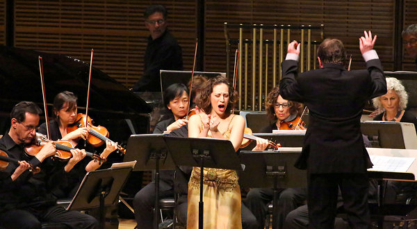 with George Manahan and the New York City Opera Orchestra