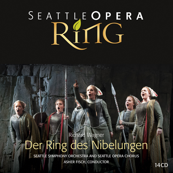 LEARN MORE - Ms. Zetlan is heard as Woglinde in Das Rheingold and Götterdämmerung and the Forrest Bird in Siegfried in this recording of Stephen Wadsworth's acclaimed Seattle Opera
