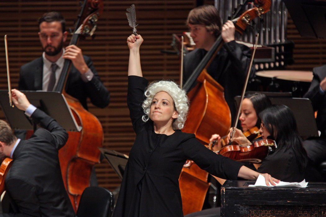 Mozart in  The Classical Style  at Carnegie's Zankel Hall