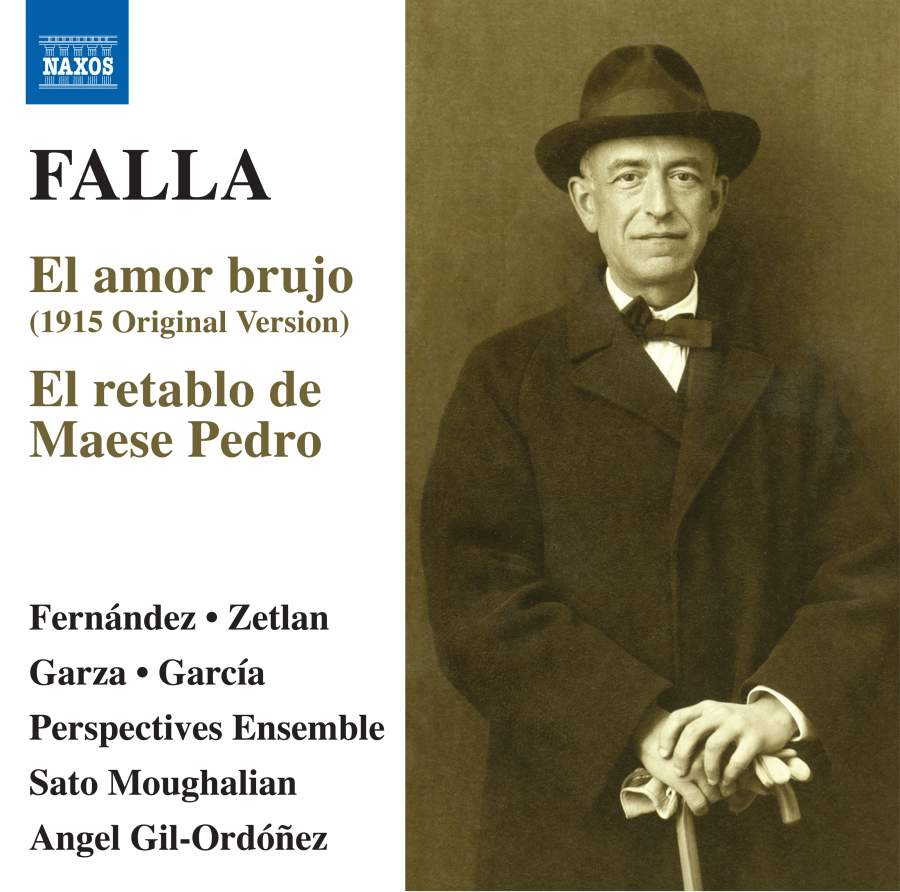 LEARN MORE - Ms. Zetlan is heard as Trujamán in this recording of two major works of Manuel de Falla.Cond. Gil-Ordóñez
