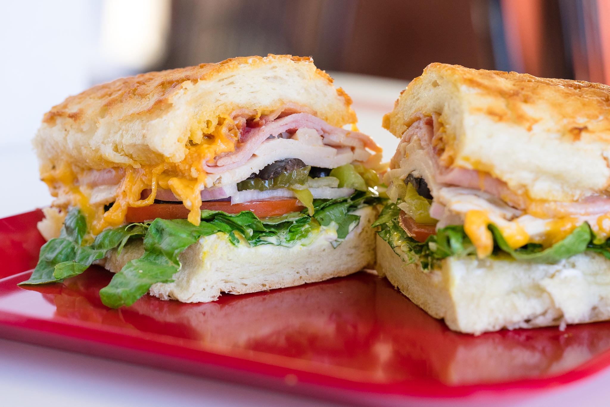 Veggie Sandwich with Cheese