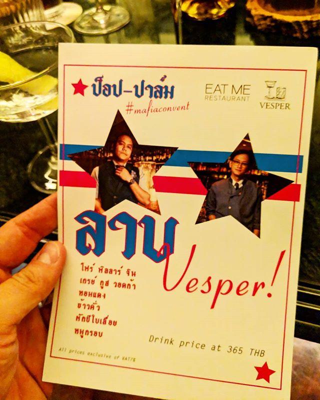 Happy birthday @vesperbkk