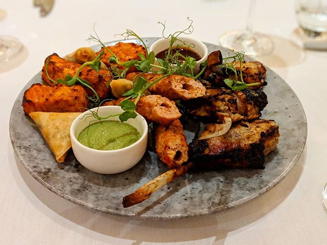 A worthy winner of Gordon Ramsay's F Word - gotta be the best Indian food in Brum! The lamb chops are really quite something @lasan