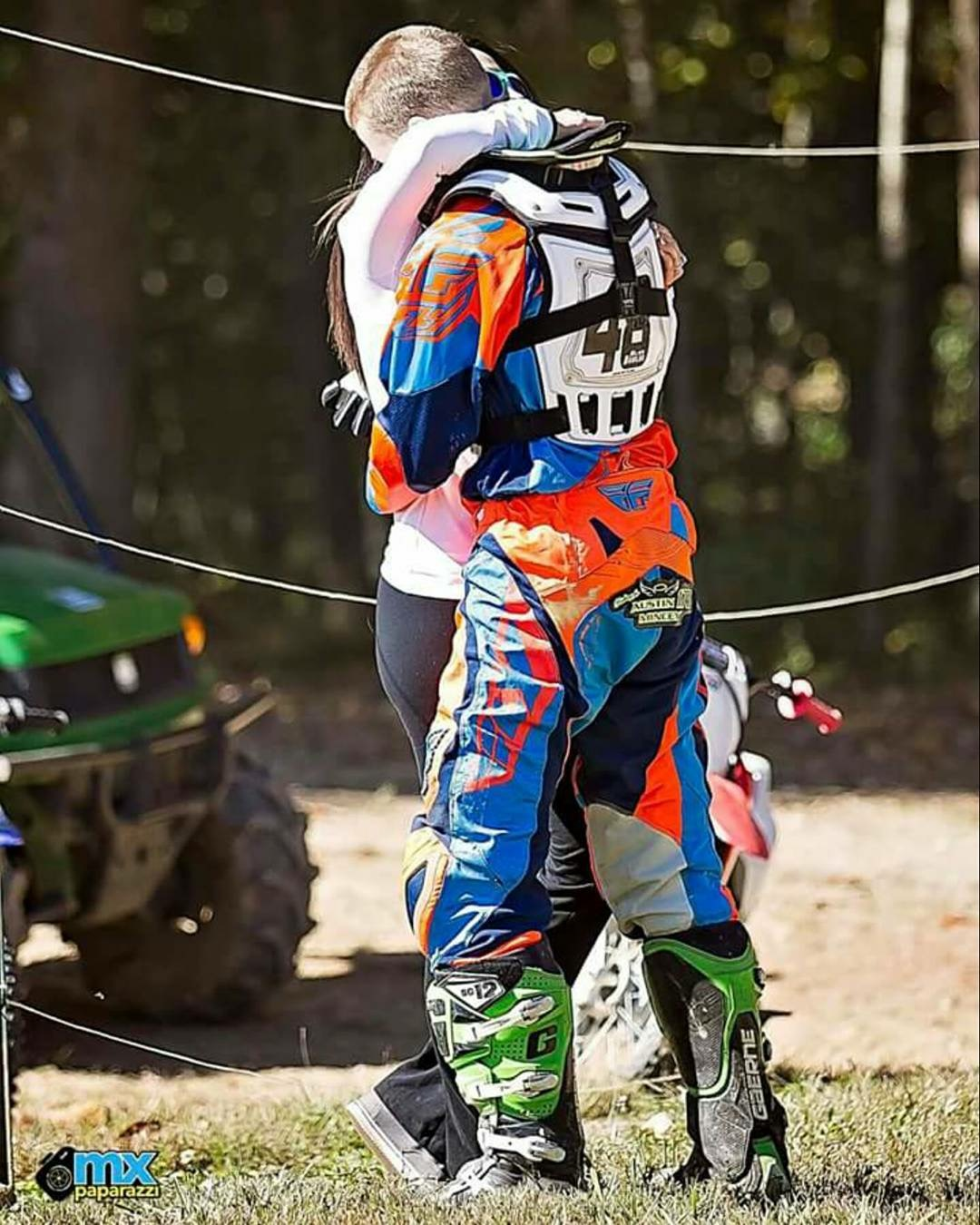 October 18, 2016 Alex proposed at Fast Farms MX