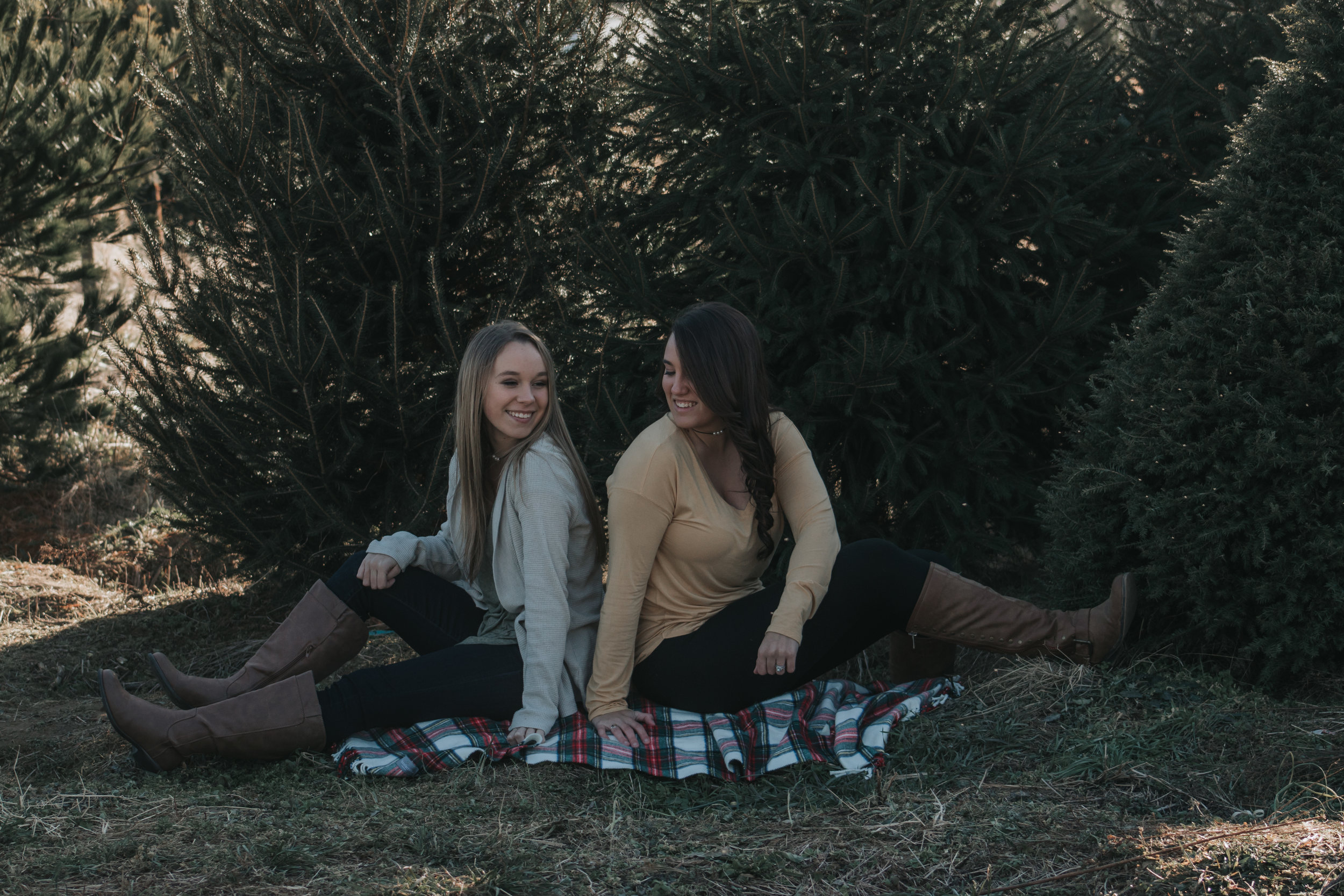 Jamie (left) Katie (right)