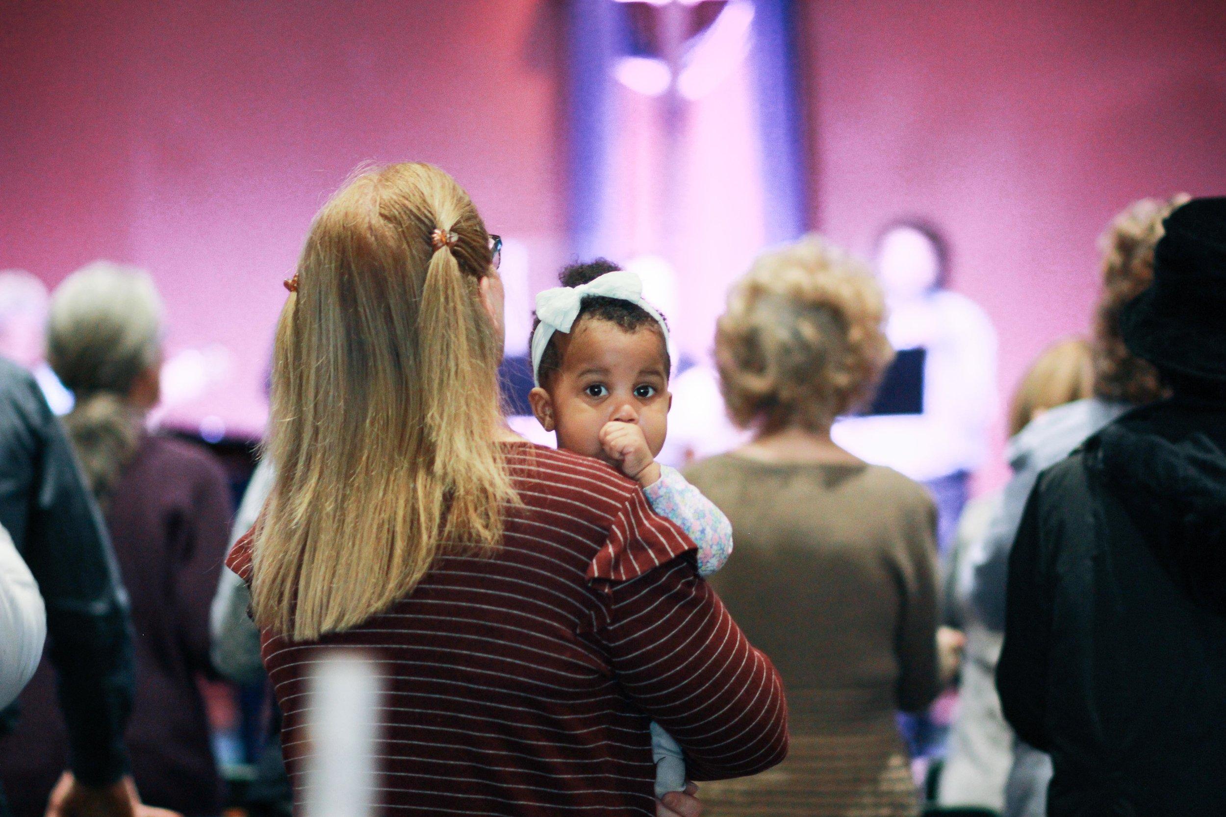 volunteer in children's ministry -
