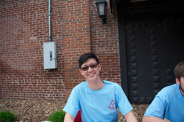 Congratulations to our brother of the month for the month of December, Daniel Wei. Come out to rush tonight, from 6 to 9 pm, to meet him and the other great brothers of Triangle Fraternity!