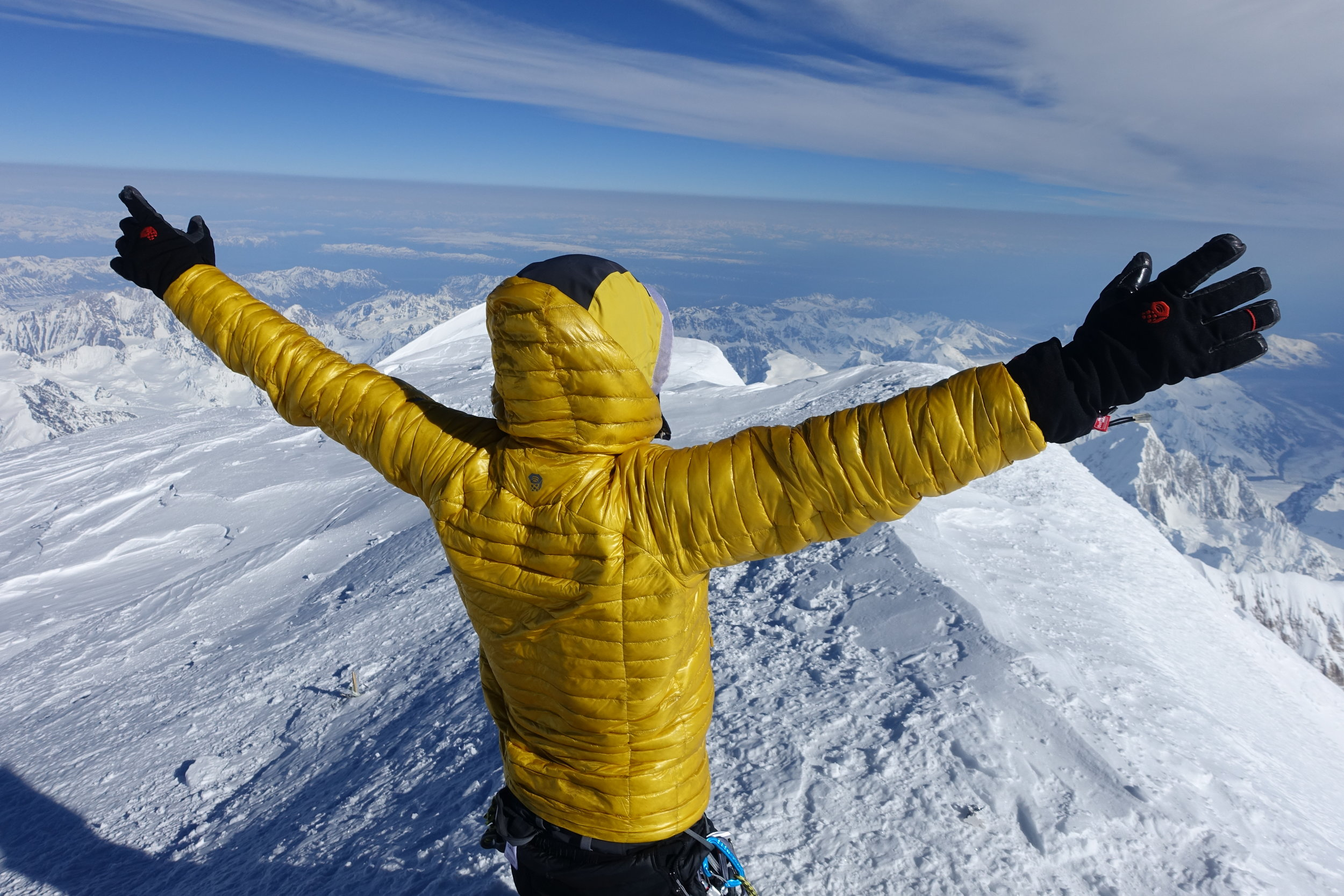 Colin becomes a 2x world record holder at the summit of Denali.