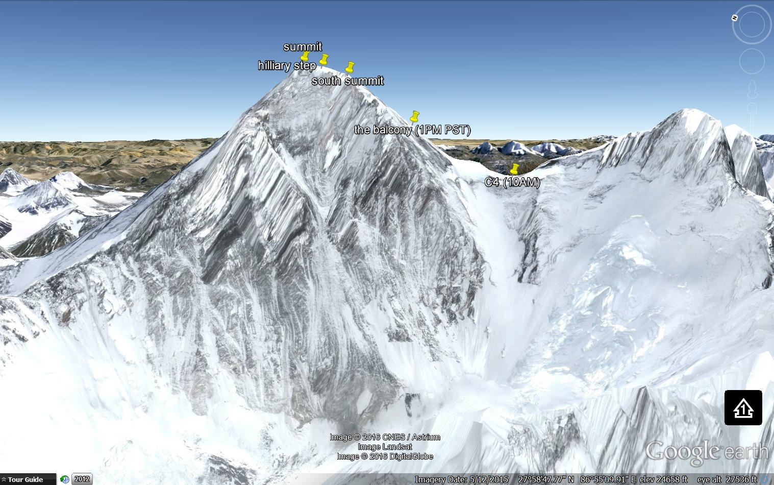 Go Colin Go! Thanks Caitlin Alcott, Colin's sister, for the incredible Google Earth pics!