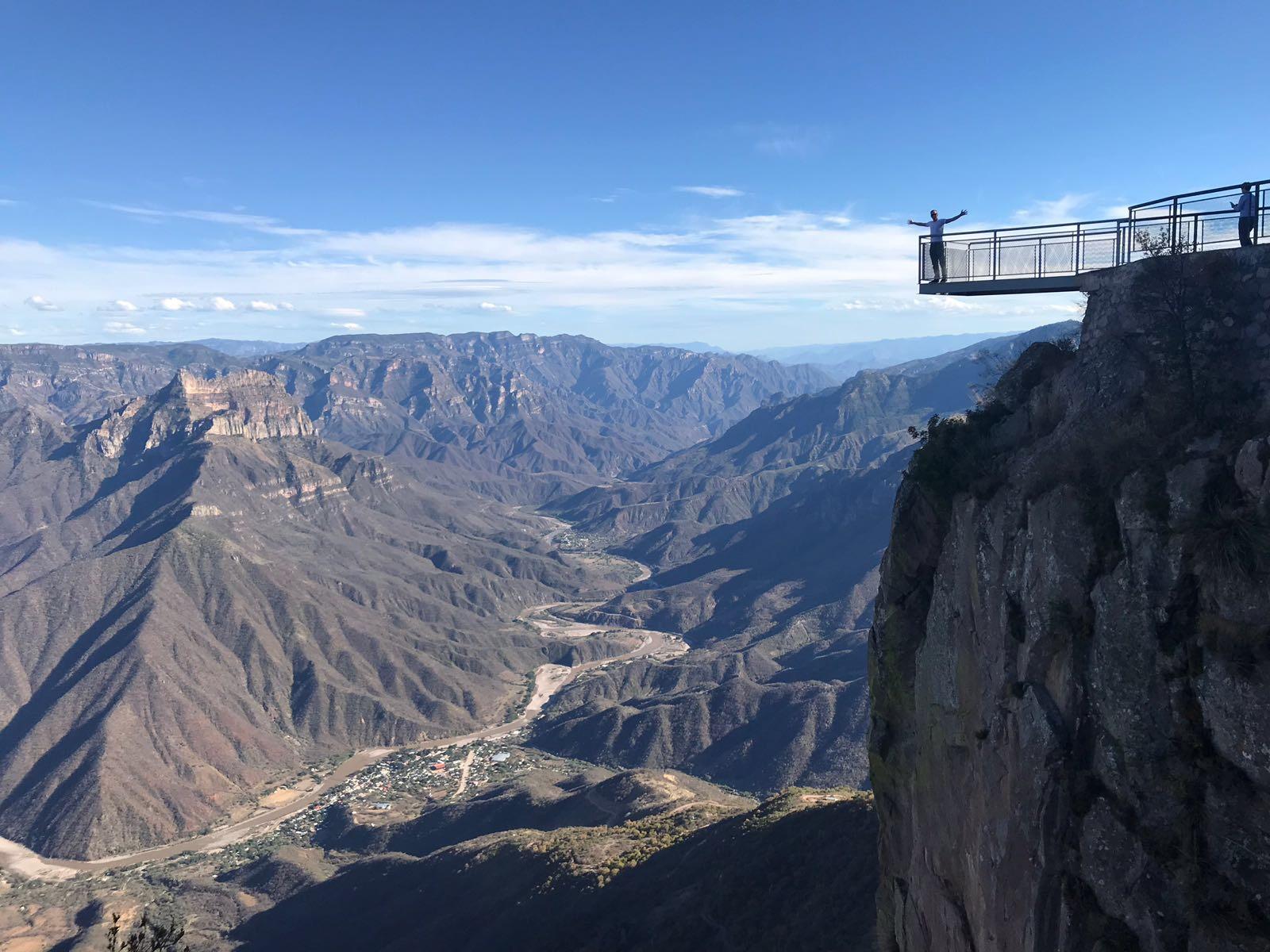 The Copper Canyon - site of the Tarahumara ultra-marathon race.
