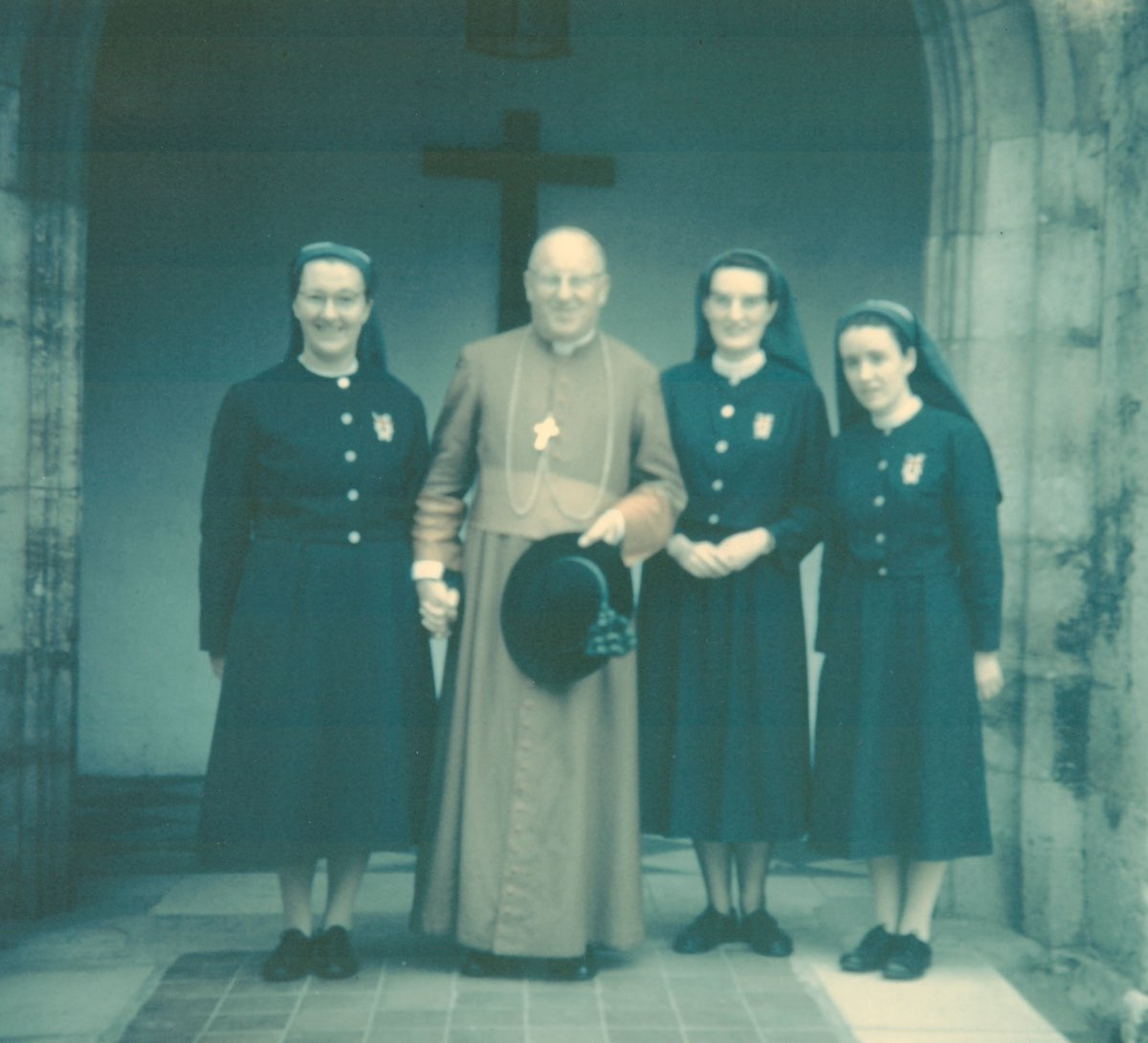 Sisters with Archbishop Cowderoy