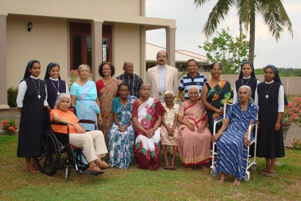 Residents at Chilaw, Sri Lanka