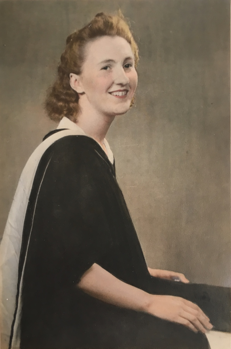 Mary Garson graduation photo