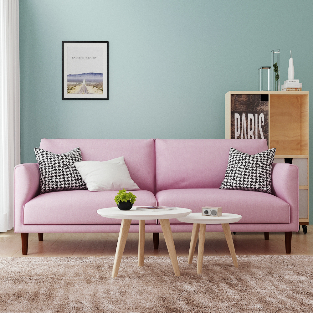 nordic style sofa — queens home