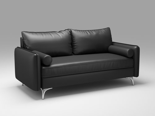 Pu Leather Loveseat Couch Comfy