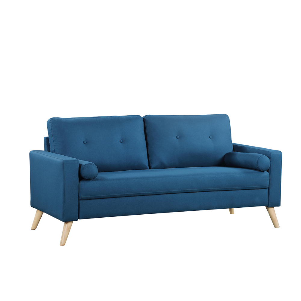 Queenshome luxury new modern divano letto nordic style KD design home  furniture blue fabric 20 seater living room sofa sets — QUEENS HOME