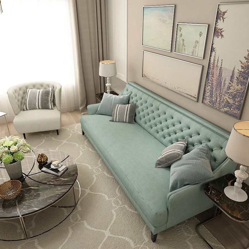 Queenshome Simple living room furniture modern pictures russian