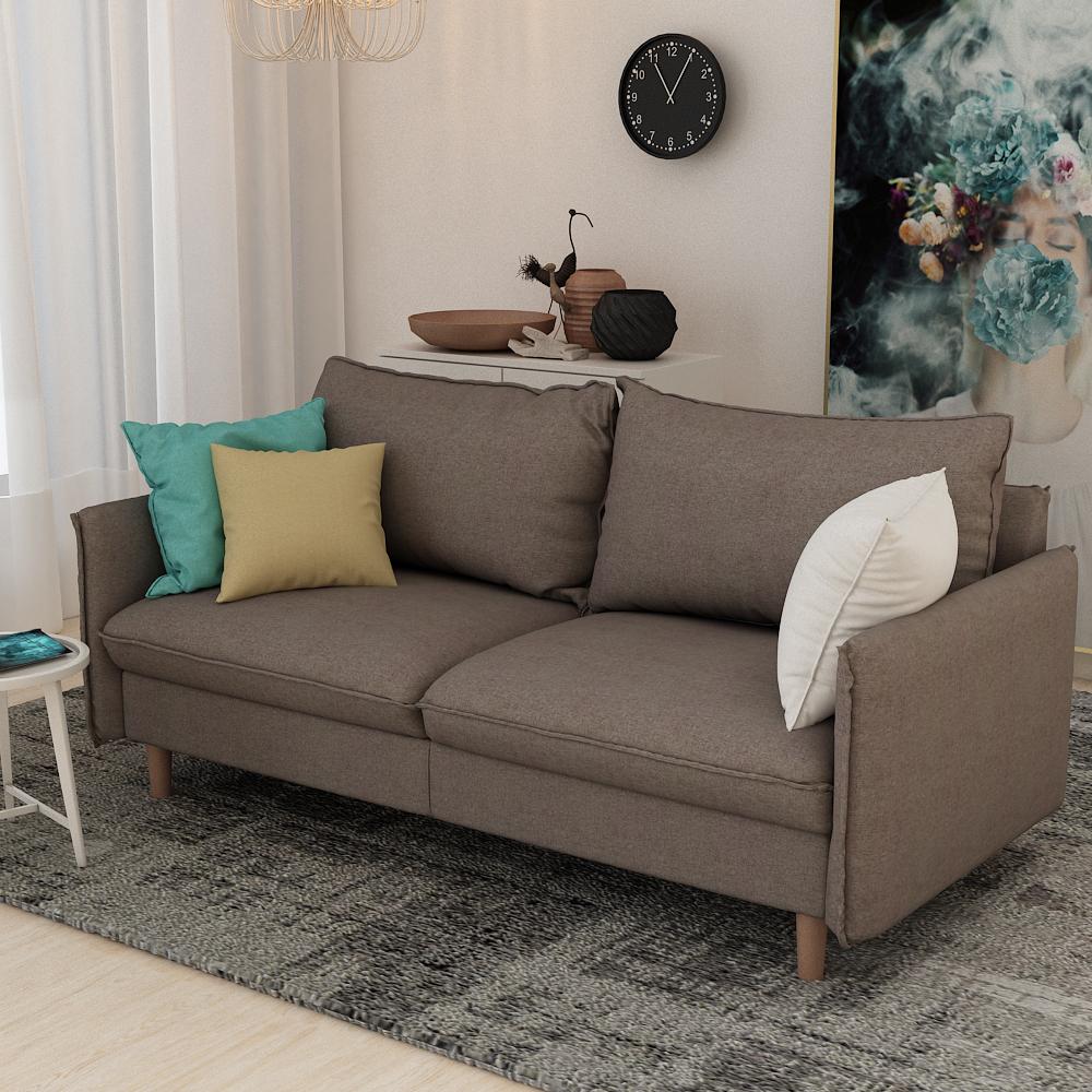 Queenshome design divano canape convertible gris damro sillon tela amber  manufacturers grey fabric double living room sofas — QUEENS HOME