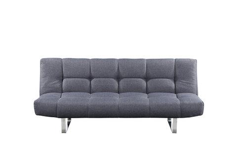 Queenshome Hot sell custom modern design European linen fabric living room  furniture blue sofa cum bed — QUEENS HOME