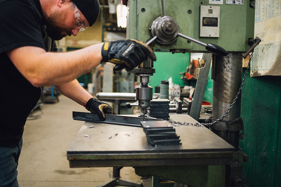 Bauer Metal Process Metal Fabrication St Paul MN Minnesota custom welding 3.jpg