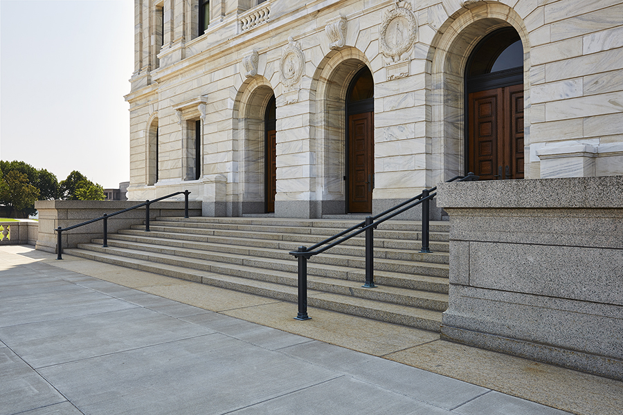 Bauer Metal Minnesota State Capitol Wrought Iron On-Site Welding Historic Preservation Restoriation Architectural Fabrication Minnesota Twin Cities Metalwork Luxury Railings Stairs Wrought Iron Fabricator Welding Twin Cities MN9.jpg