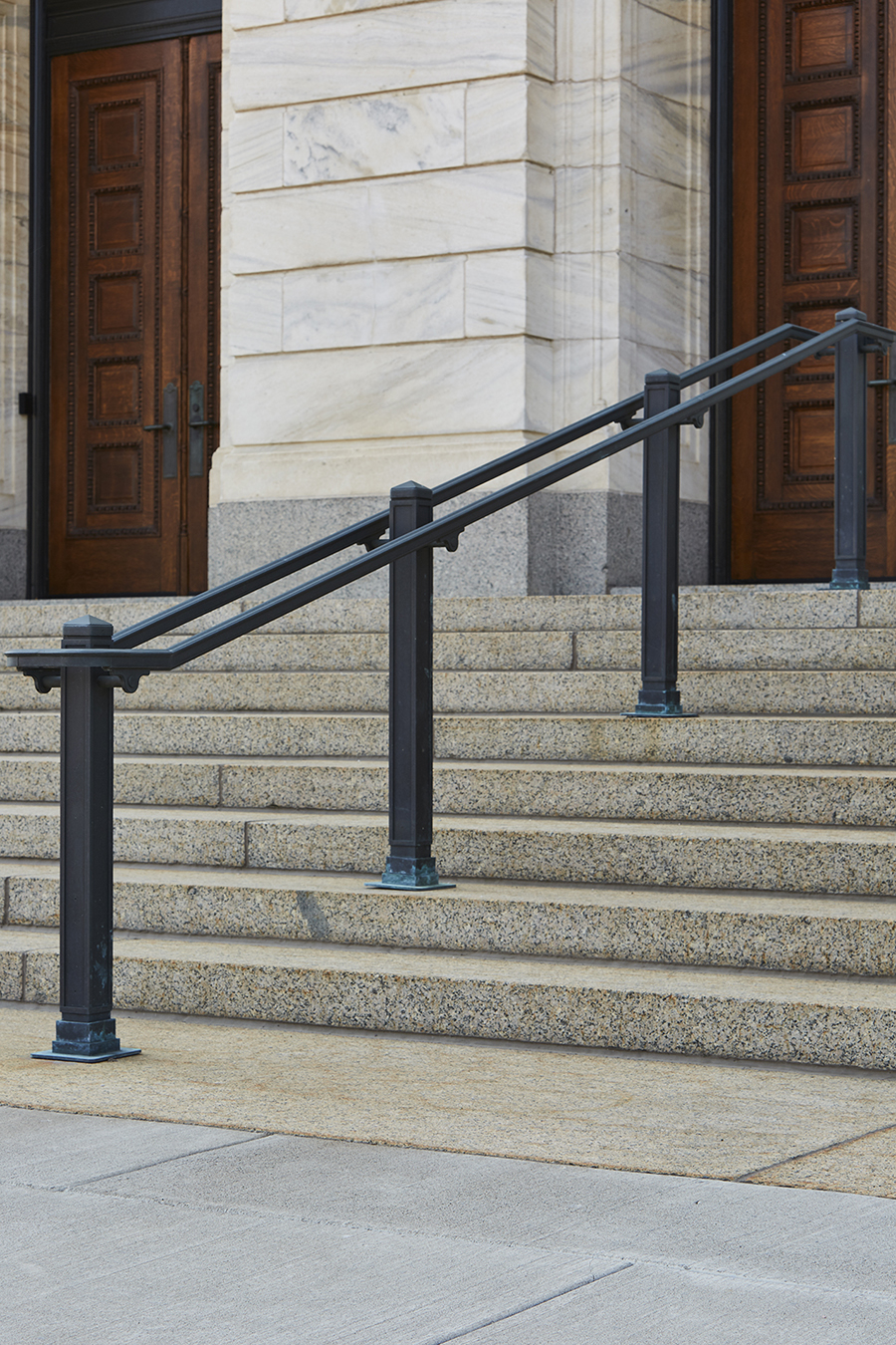Bauer Metal Minnesota State Capitol Wrought Iron On-Site Welding Historic Preservation Restoriation Architectural Fabrication Minnesota Twin Cities Metalwork Luxury Railings Stairs Wrought Iron Fabricator Welding Twin Cities MN8.jpg