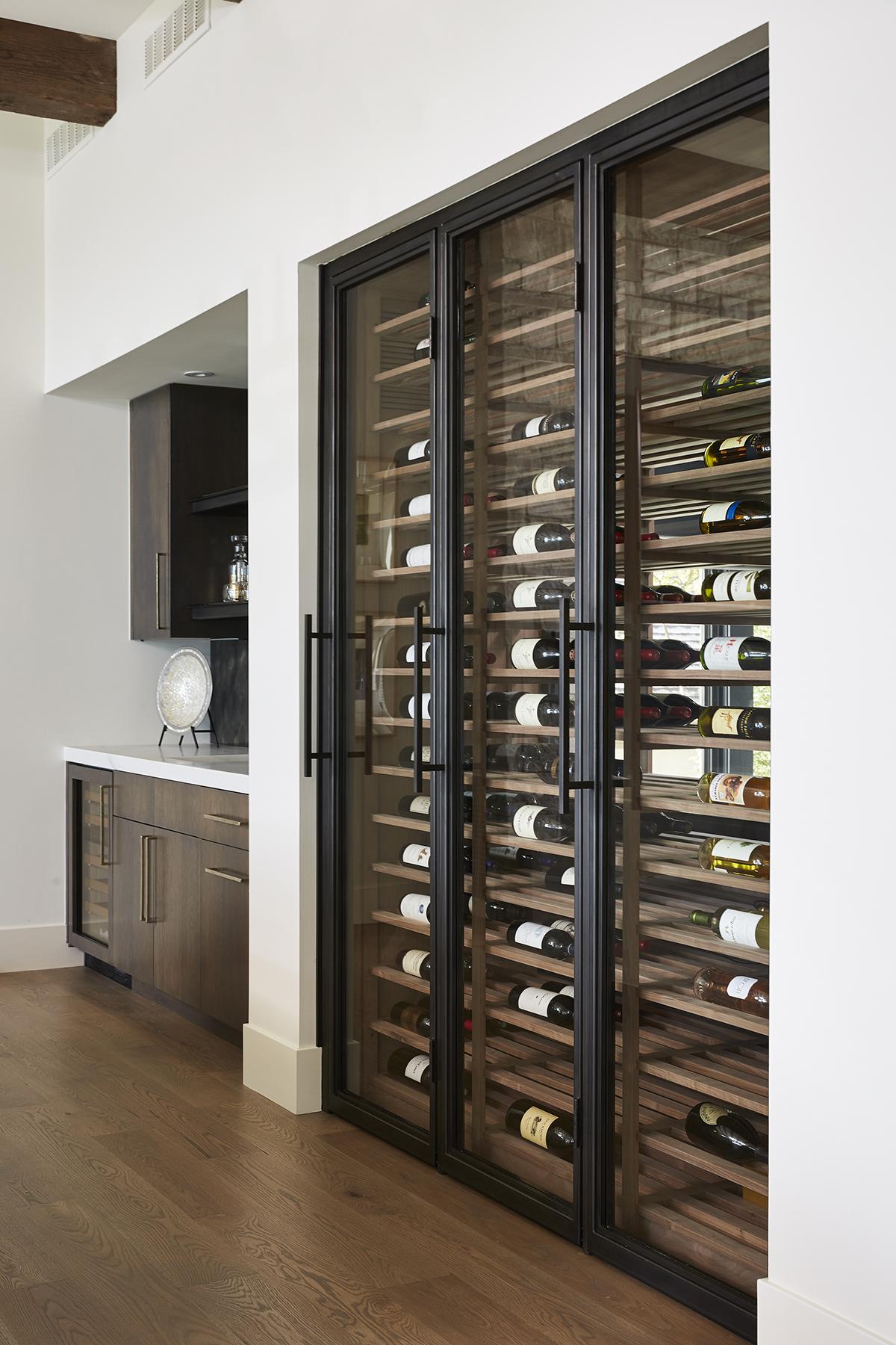 wine doors bauer metal fabrication fabricator custom blackened steel architectural metal interior design minnesota mn 3.jpg