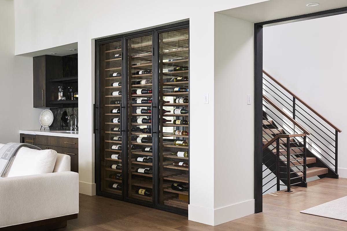 wine doors bauer metal fabrication fabricator custom blackened steel architectural metal interior design minnesota mn 1.jpg