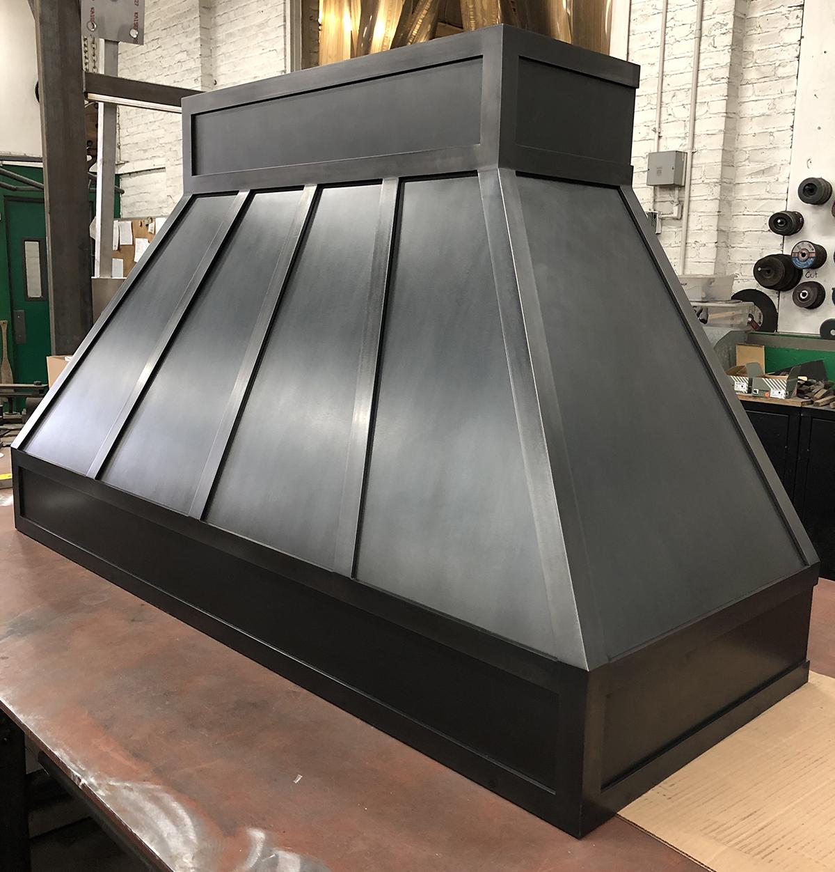custom metal kitchen hood metalwork blackened steel bauer metal fabrication fabricator architectural metal interior design minnesota twin cities minneapolis st paul mn 4.JPG