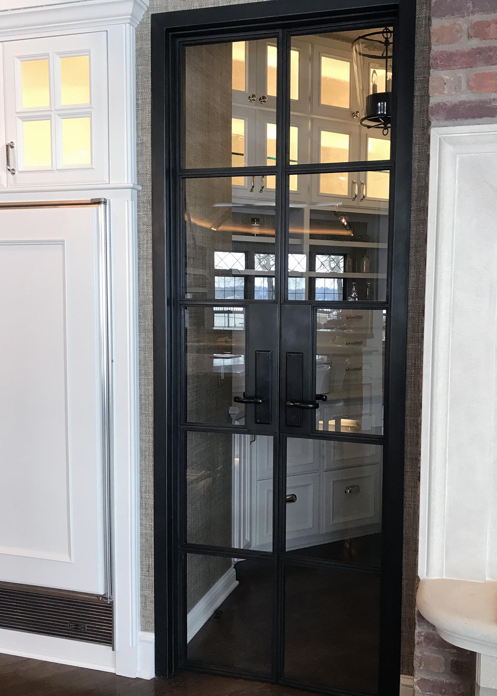 wine doors bauer metal fabrication fabricator custom blackened steel architectural metal interior design minnesota mn 7.jpg