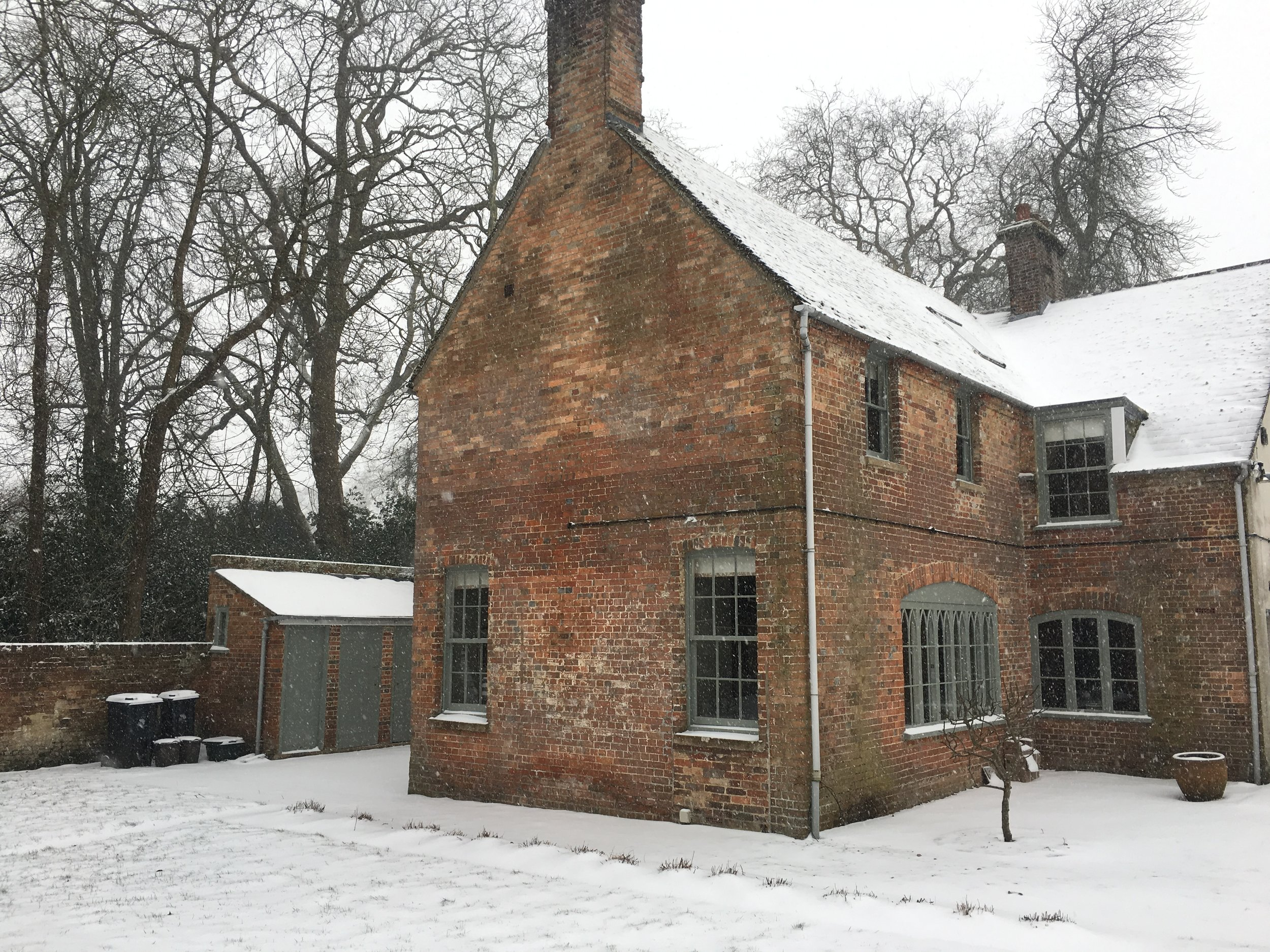 Gate House Snow