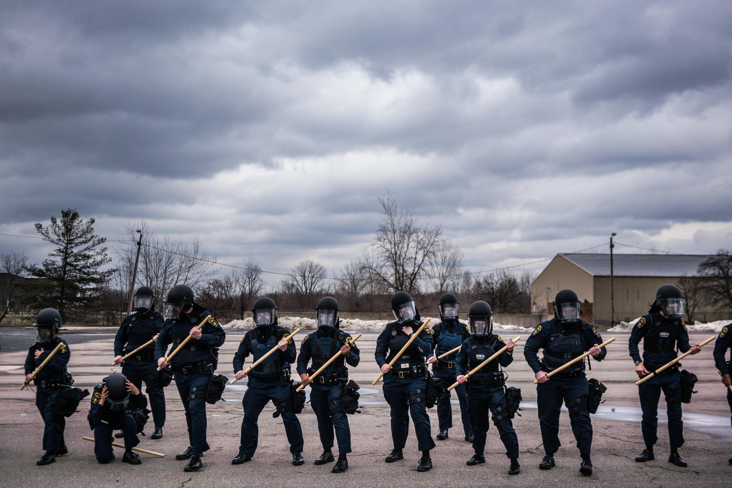 From the Netflix series Flint Town. Photo: Zackary Canepari/ VII Photo