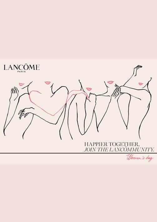 Lancôme Women's Day / Publicis 133