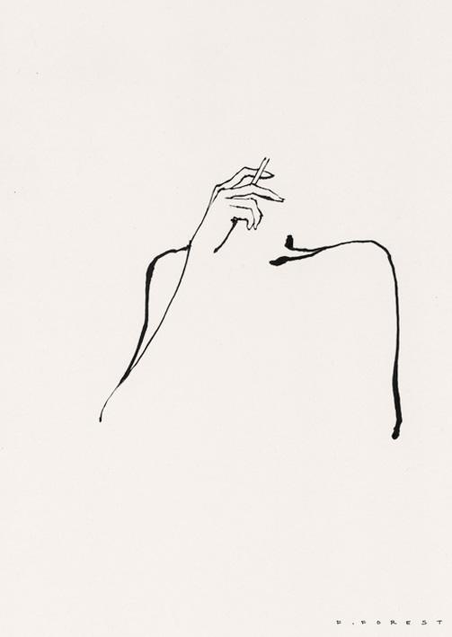 FForest_Drawing_WomanSmoking#7.jpg